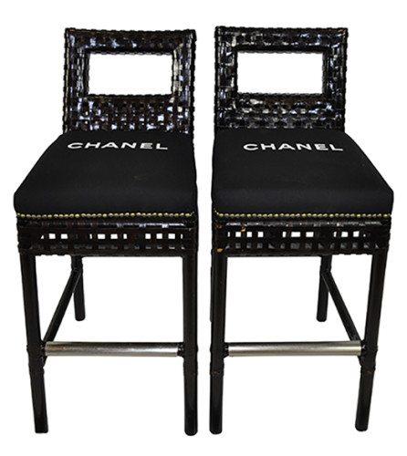Chanel barstools