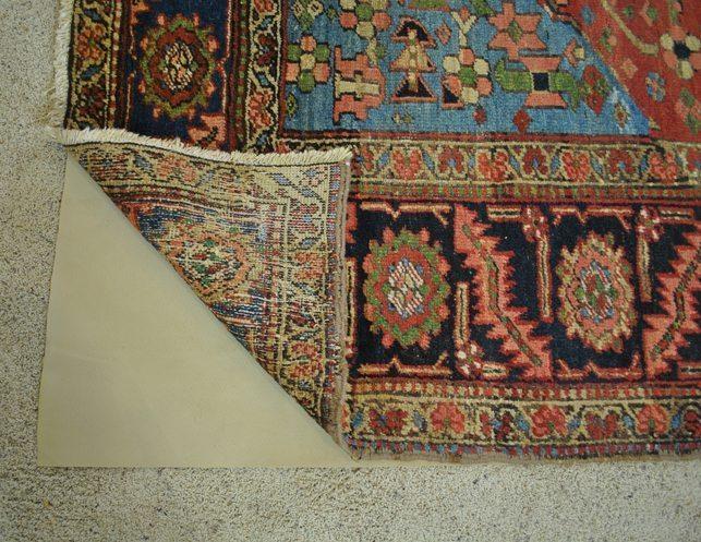 9 X 11 Heriz Antique Persian Rug The Local Vault