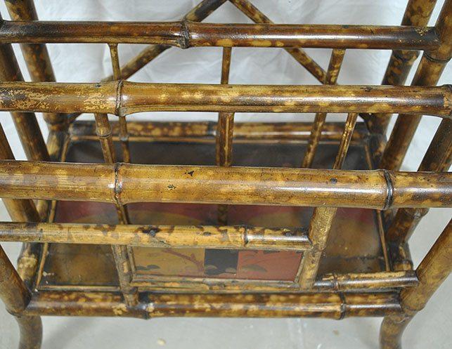 Antique bamboo petite etagere the local vault - Etagere vintage scandinave ...