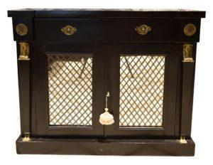 English Regency Egyptian Revival Side Cabinet
