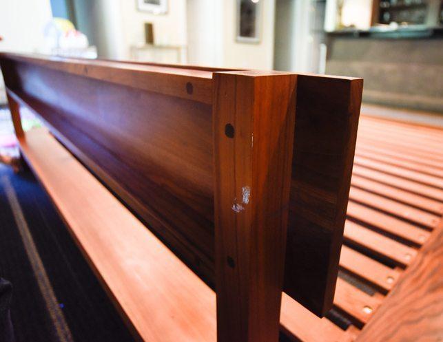 De La Espada : De la espada slat platform king bed the local vault