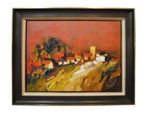 """Untitled II"" by Onyeka Ibe, Oil on Canvas"