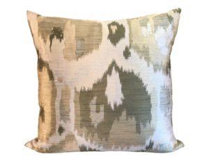 Donghia Silk Ikat Pillow