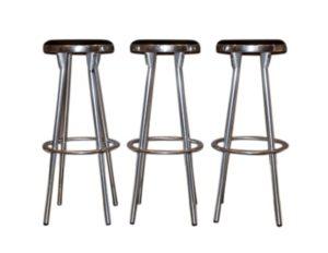 Set of 3 Indecasa Style Bar Stools