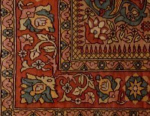 1.5 x 3 Fine Oriental Rug