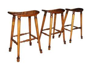 Custom Wood Barstools