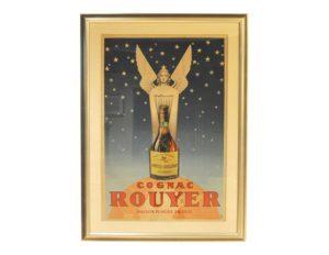 Vintage Original Cognac Rouyer Poster