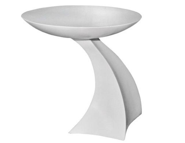 Modern White Side Table