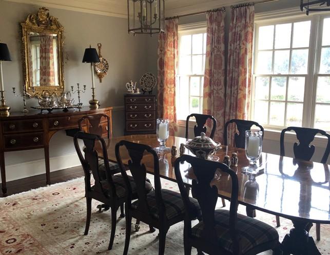 Baker Historic Charleston Collection Mahogany Dining Table