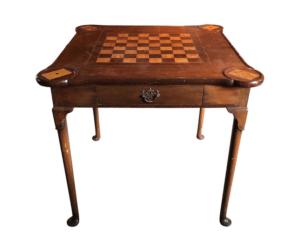 Vintage Repurposed Game Table