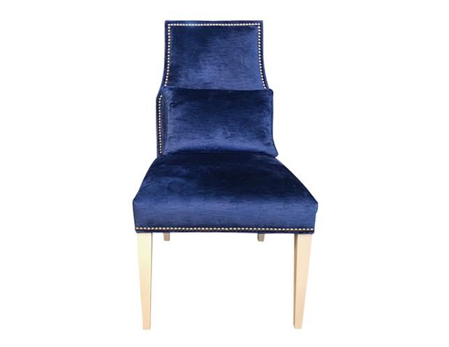 Blue Velvet Desk Chair Go Back Previous Next