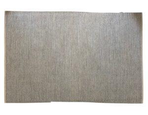 6 x 10 Elizabeth Eakins Weft Woven Wool Blue Rug
