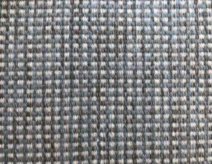 Elizabeth Eakins Weft Woven Wool Blue Runner