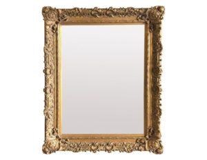 Large Gold Framed Floor Mirror
