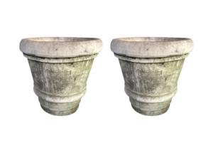 Nina Studio Double Ring Concrete Planters
