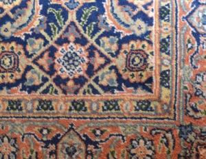 3 x 5 Blue Oriental Rug