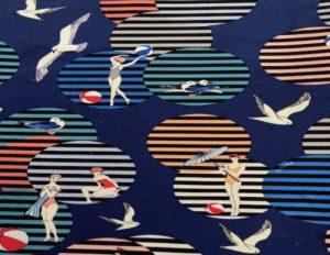 Printed Cotton Beach Blanket