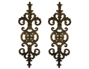 Antique Wrought Iron Decorative Accents