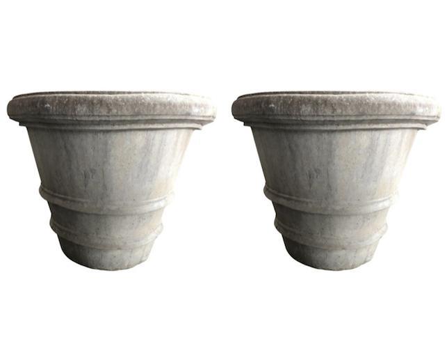 Nina Studio Concrete Garden Planters | The Local Vault on grey pendant lights, grey lanterns, grey kitchen decor, grey cushions, grey walls, grey trellis, grey christmas decorations, grey marble flooring,
