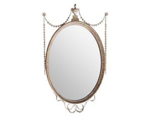 Adam Style Oval Mirror