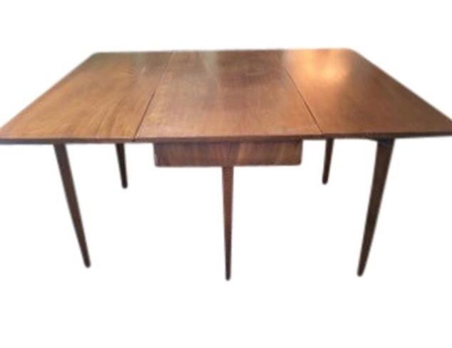 Antique Drop Leaf Table >> Vintage Drop Leaf Table