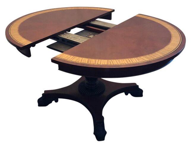 Baker Furniture Regency Extending Dining Table