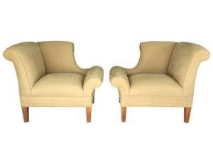 Edwin Lutyens Napoleon Chairs
