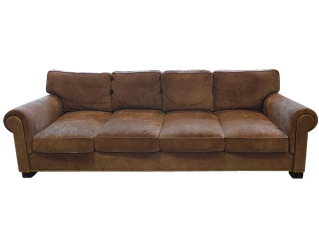 Ralph Lauren Suede Jamaica Sofa The