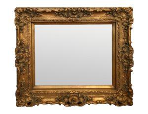 Carved Giltwood Framed Mirror