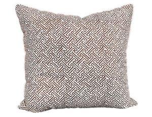 Java Java Brown Quadrille China Seas Pillow