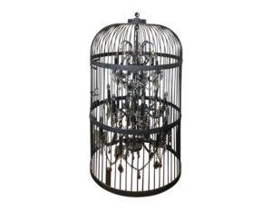 Restoration Hardware Vintage Birdcage Chandelier