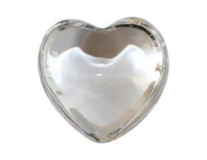 Baccarat Coeur Cupid Crystal Heart