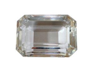 Tiffany & Co Emerald Cut Crystal Paperweight