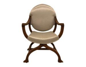 Walnut Savonarola Dante Style Chair
