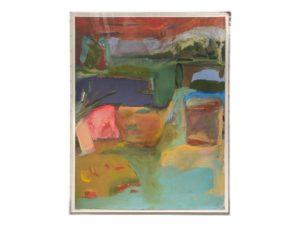"Claudia Mengel ""Landscape Abstraction"" in Custom Plexi Frame"