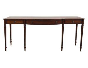 Regency Style Mahogany Inlaid Console Table