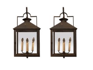 Paul Ferrante Baxley Bracketed Lanterns