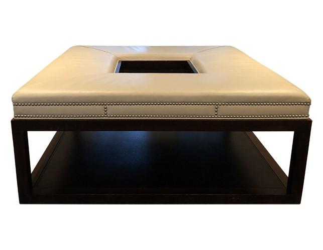 Brilliant Vanguard Wayland 44 Square Ottoman Ibusinesslaw Wood Chair Design Ideas Ibusinesslaworg