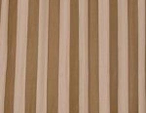 Custom Beige & Brown Striped Panels, Set of 6