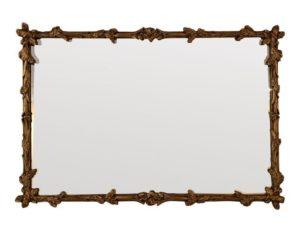 Gilt Carved Acanthus Leaf Mirror