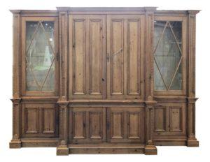 Custom Designed Pine Cabinet by Cindy Rinfret