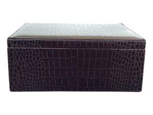 Croc Stamped Box