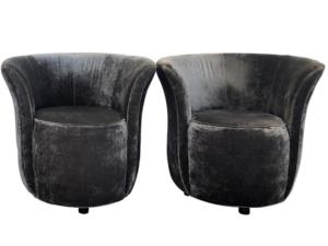 Cyan Designs Ms. Ta-da Chairs, Pair