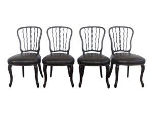 Theodore Alexander Seddon Chairs, Set of 4