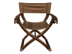 Paul Guzzetta Tawa Chair by 4-Or in Dark Grey, 3 Available
