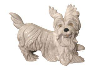 Vintage Ceramic Terrier