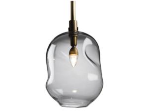 Marsia Holzer Organic Glass Pendant Light, 4 Available