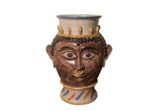 Sicilian Ceramic Vase