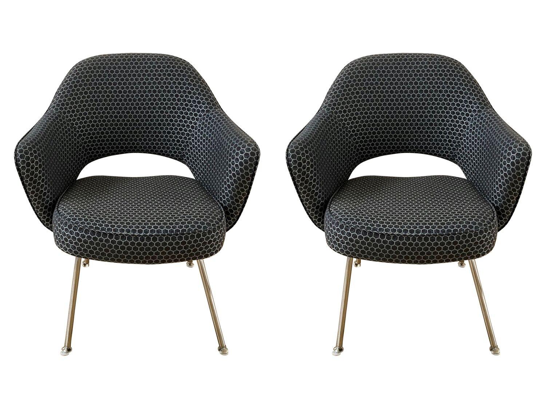 Design Within Reach Saarinen Executive Chairs, Pair