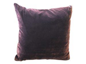 Purple Velvet Dransfield & Ross Pillow
